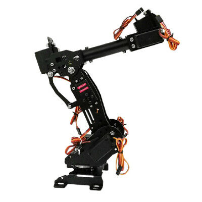 Aluminium Alloy 7DOF Robot Robotic Arm Claw Gripper Kit -3316 Servo 7 Axis