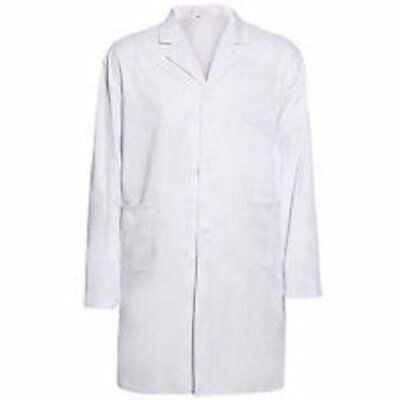 Children Kids School Fancy Party Lab 3 Pocket White Coat sizes 5-13