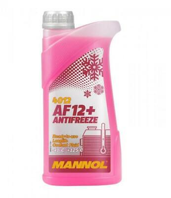 1L AF12+ Red Antifreeze Coolant Concentrated to -40°C (Longlife)