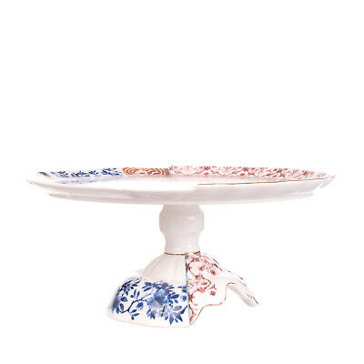 SELETTI HYBRID Collection MORIANA Cake stand in Bone China Designed by CTRLZAK
