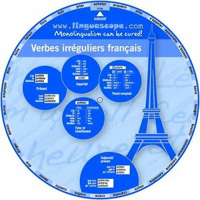 Stephane Derone-French Verb Wheel (Verbes Irreguliers Francais) BOOKH NEW