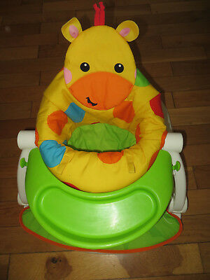 baby play feeding chair play seat FISHER PRICE used good cond