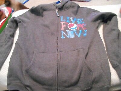 Pepsi Live for Now Pepsi Hooded Jacket with Zipper, NEW witout tags