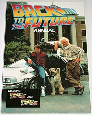 Back to the Future Annual 1991 Hardback Book The Cheap Fast Free Post