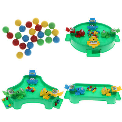 Froggy Feeding Game Fun Family Activity Set, Fine Motor Toy for Kids Adults