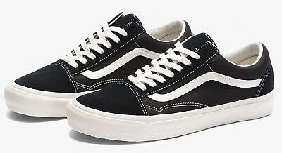d8010e773f341c VANS VAULT OLD SKOOL OG LX BLACK MARSHMALLOW 8-12 style 36 fog racing red