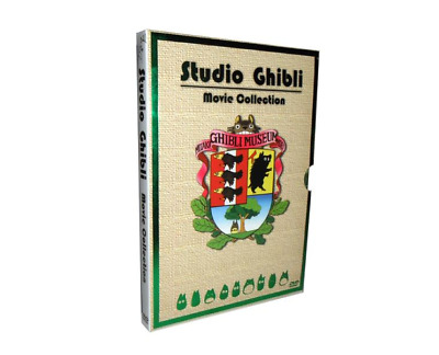 Studio Ghibli Collection 17 Movie Miyazaki Films DVD Box Set ENGLISH Audio