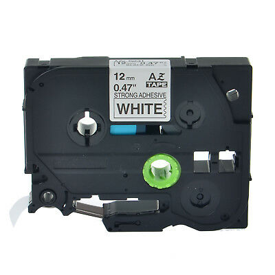 """1PK TZe S231 TZ-S231 Black On White Label Tape For Brother P-Touch PT-18R 1/2"""""""