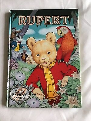 1987 Rupert Bear Annual In Very Good Condition
