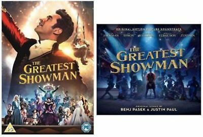 The Greatest Showman DVD CD COMBO DEAL, BOTH NEW AND SEALED.