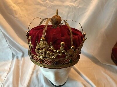 Masonic York Rite Chapter And Council Kings Crown For Degree Work