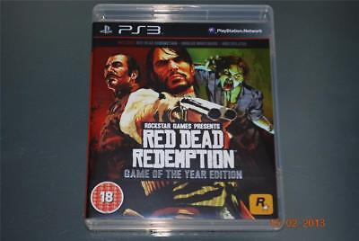 Red Dead Redemption Game of the Year Edition PS3 Playstation 3 GOTY