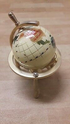 Brass World Globe