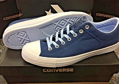 6824d1e4cac6 Converse Chuck Taylor All Star High Street Ox Navy Blue Chill  White Size 10