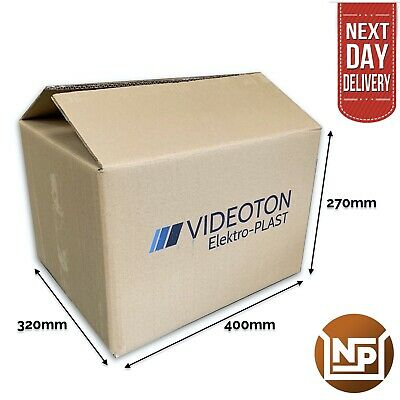 """Pack Of 10 Medium Extra Strong Removal Boxes Double Wall 15.5"""" X 13"""" X 11"""""""