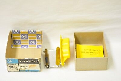 Kindermann 127 film loader. In box with instructions. New old stock