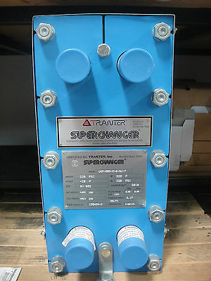 Tranter Heat Exchanger, Model Uxp-005-M-6-Sj-7, New