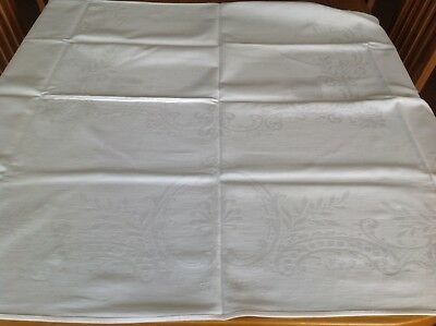 Vintage Double Damask Table Cloth