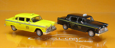 Brekina 58931 Start-Set Checker Cab Blister mit 2 Modellen Scale 1 87