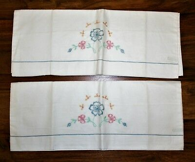 Vintage Pillowcases/embroidered