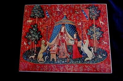 The Metropolitan Museum of Art Vintage Tapisserie  Lady and the Unicorn #155