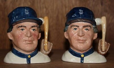 "Royal Doulton Small Character Jugs ""The Baseball Player"", include FL Spec. Ed."