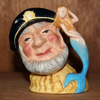 "Royal Doulton Small Character Jug ""Old Salt"" Michael Doulton Spec. Ed."