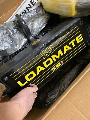 R&M Loadmate 1/2 Ton Electric Chain Hoist New In Box Free Shipping