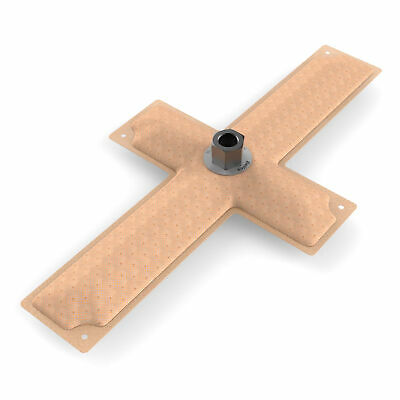 Holley Hydramat Fuel Tank Pickup 15 x 8 x 2.5 Inch Cross 3/8 Inch Centre Outlet