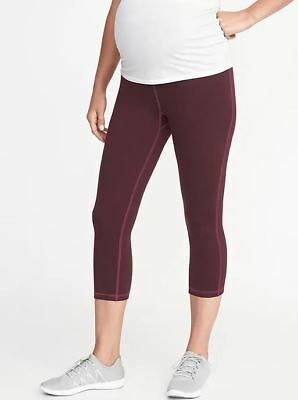 Old Navy NEW NWT Maternity High-Rise Elevate Compression Crops Small