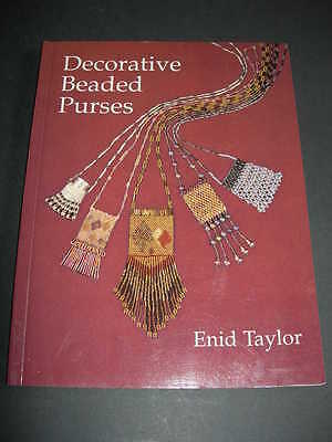 DECORATIVE BEADED PURSES Master Craftsman BOOK Taylor Jewellery Bags Projects