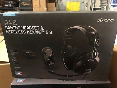 OB Astro Gaming A40 Wired Surround Sound Gaming Headset Wireless MIXAMP 5.8 MLB