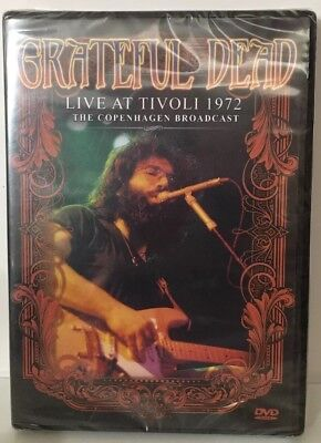GRATEFUL DEAD LIVE AT TIVOLI 1972 THE COPENHAGEN BROADCAST (DVD)  Jerry Garcia