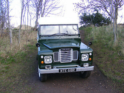 """1976 Land Rover Series 3 88"""" Diesel MOT and TAX Exempt"""