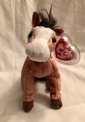 Oats the Horse Ty Beanie Babies Baby New Soft Toy With Tags