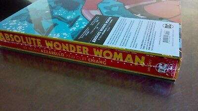 NEW & SEALED Absolute Wonder Woman VOL 1 Azzarello Cliff Chiang HC Hardcover