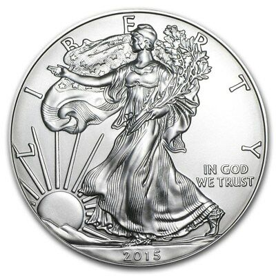 2015 American Eagle Silver Coin 2015 1 oz .999 fine SILVER  Eagle Uncirculated