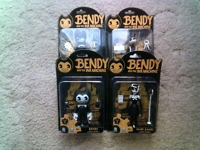 "Bendy and the Ink Machine 5"" Action Figure - Complete Your Collection"