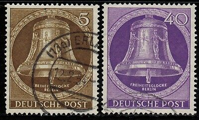 Germany #9N70,74 1951 Used