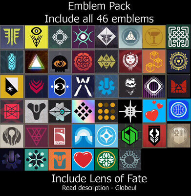 Destiny 2 Emblem - Little Light's, Sign of Connection and +[PS4/PC/XBOX] Read