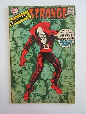 Deadman in STRANGE ADVENTURES Dec 1967  No 207 Silver Age DC COMIC BOOK