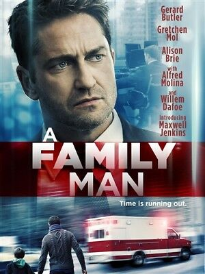 A FAMILY MAN New Sealed DVD Gerard Butler