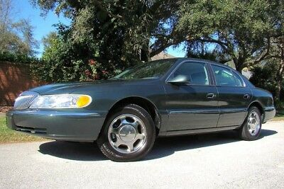 2001 Lincoln Continental  2001 LINCOLN CONTINENTAL ONLY 78K LOW MILES! CHROMES! 2 OWNER! FL!