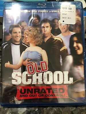 Old School (Blu-ray Disc, 2008, Canadian Unrated)