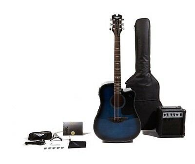 Keith Urban Acoustic-Electric Ripcord Guitar Package Electric Blue New In Box