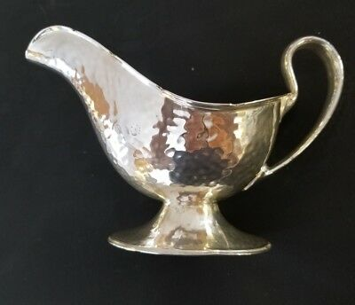 Vintage Meriden Silver Plated Co. Gravy Sauce Boat #2105