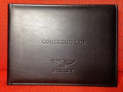 2014 2013 Bentley Continental Gt Speed Owners Manual +Navigation Info V8 V12 W12