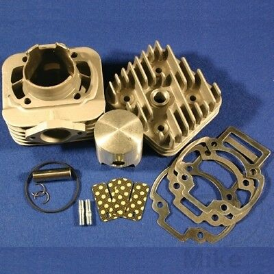 Athena Cylinder Kit 70cc 12MM Pin With Cyl Head Piaggio TPH 50 Typhoon 1994-97