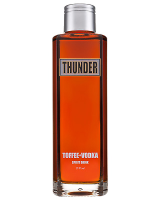 Thunder Toffee Vodka 700ml Spirits bottle