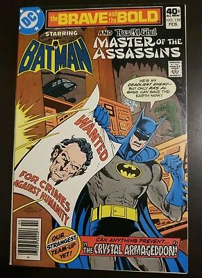 Brave and the Bold #159 (1980) NM- RAS AL GHUL BATMAN MASTERS OF ASSASSINS APP
